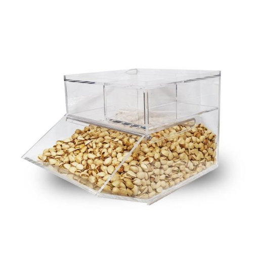 Picture of Premium Quality Acrylic Candy Bin Countertop Compartment 15L 6mm | Free Delivery