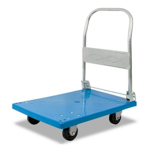 Picture of Heavy Duty 100 Kg Industrial Foldable Platform Trolley Hand Truck Foldable Cart | Free Delivery