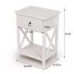 Picture of Levede Bedside Tables Chest Of Drawers   Free Delivery