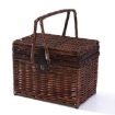 Picture of 4 Person Picnic Basket Deluxe Baskets Set Outdoor Blanket Deluxe Wicker Gift | Free Delivery