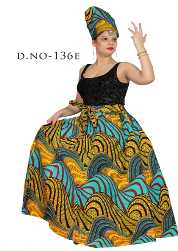 Modern free size skirt