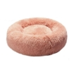 Picture of Pet Bed Cat Dog Donut Nest Calming Kennel Cave Deep Sleeping Pink XL | Free Delivery