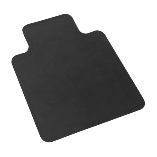 Picture of Chair Mat Carpet Hard Floor Protectors PVC Home Office Room Computer Work Mats No Pin Black | Free Delivery