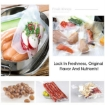 Picture of 2 Rolls Vacuum Food Sealer Seal Bags Rolls Saver Storage Commercial Grade 22cm | Free Delivery