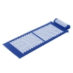 Picture of Acupressure Mat Yoga Massage Shakti Sit Lying Pain Stress Relax Blue 130 x 50cm | Free Delivery