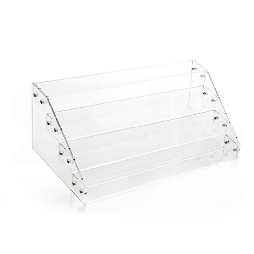 Picture of Clear Acrylic Nail Polish Varnish Cosmetics Display Stand Rack Organiser   Free Delivery