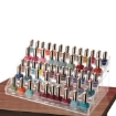 Picture of 5 Tier Clear Acrylic Nail Polish Varnish Cosmetics Display Stand Rack Organiser   Free Delivery