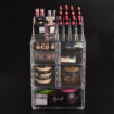 Picture of Cosmetic 7 Drawer Makeup Organizer Storage Jewellery Holder Box Acrylic Display | Free Delivery
