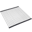 Picture of Stainless Steel Sink Kitchen Dish Drainer Foldable Drying Rack Roll-Up RackOver Type 1   Free Delivery