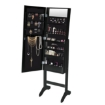 Picture of Levede Mirror Jewellery Cabinet Two Doors Makeup Storage Jewelry Organiser Box | Free Delivery