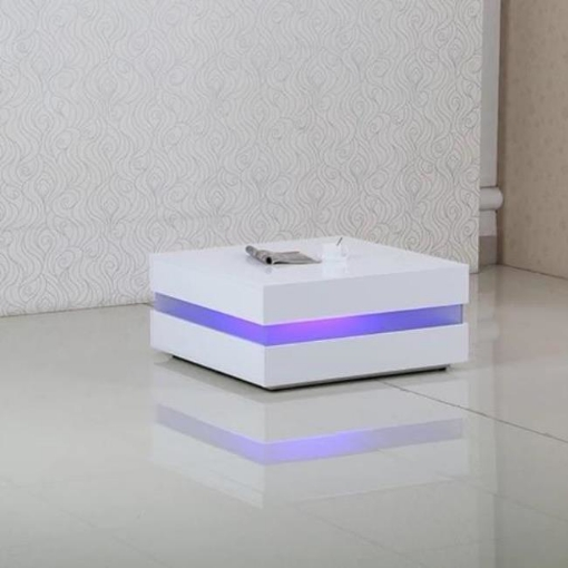Picture of Latest LED Light Modern Coffee Table exclusive   Free Delivery