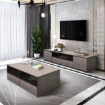 Picture of 2 Pieces Modern Coffee Table & TV Unit Set   Free Delivery