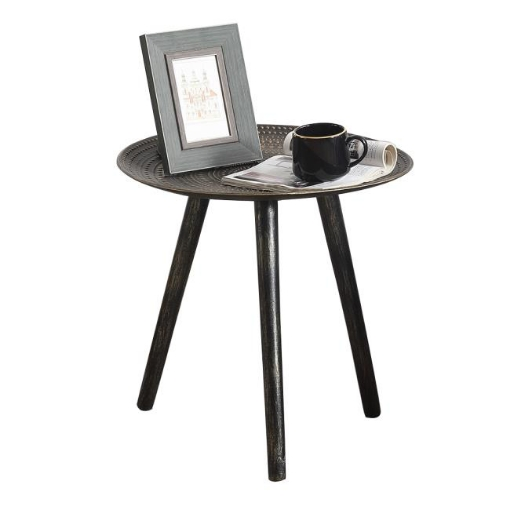 Picture of Coffee Table Side End Tables Antique Storage Modern Bedside Furniture Black | Free Delivery