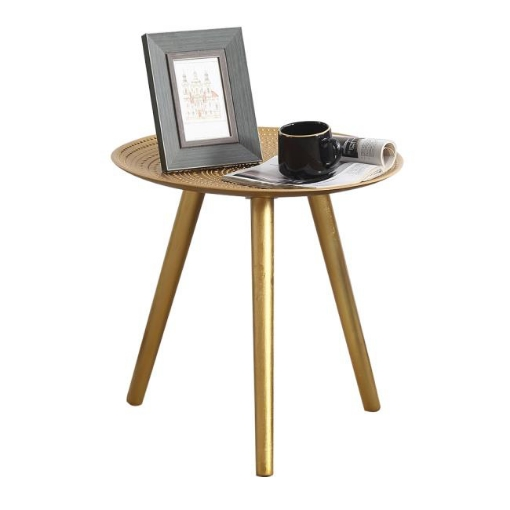 Picture of Coffee Table Side End Tables Antique Storage Modern Bedside Furniture Gold | Free Delivery