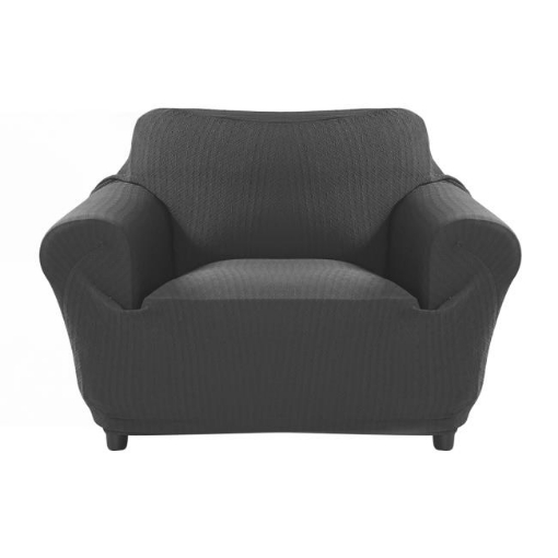 Picture of Sofa Cover Slipcover Protector Couch Covers 1-Seater Dark Grey | Free Delivery