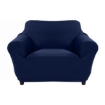 Picture of Sofa Cover Slipcover Protector Couch Covers 1-Seater Navy | Free Delivery