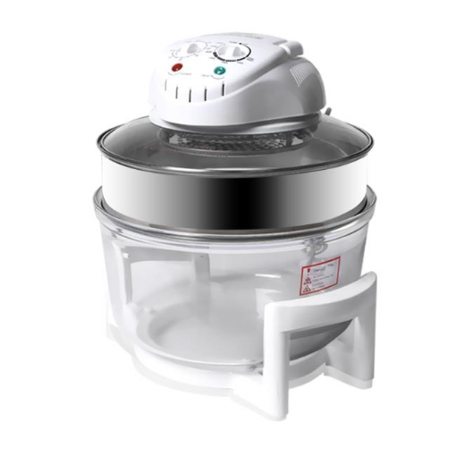 Picture of 17L Turbo Convection Oven Halogen Cooker Low Fat Electric  Air Fryer White | Free Delivery