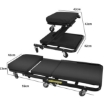 Picture of Folding Creeper Mechanic Stool Seat  Garage Repair Trolley Laying  Workshop | Free Delivery