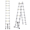 Picture of 2M Telescopic Aluminium Multipurpose Ladder Extension Alloy Extendable Step | Free Delivery