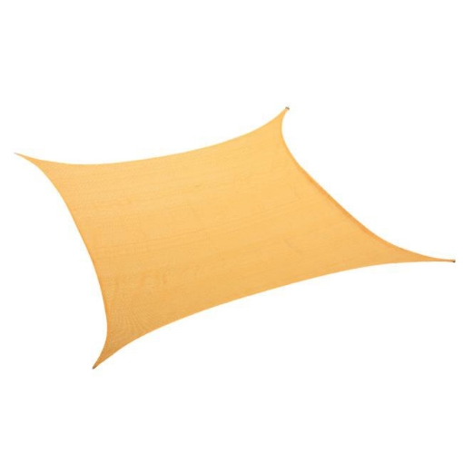 Picture of Sun Shade Sail Cloth Rectangle Canopy ShadeCloth Outdoor Awning Cover Beige 3x4M | Free Delivery