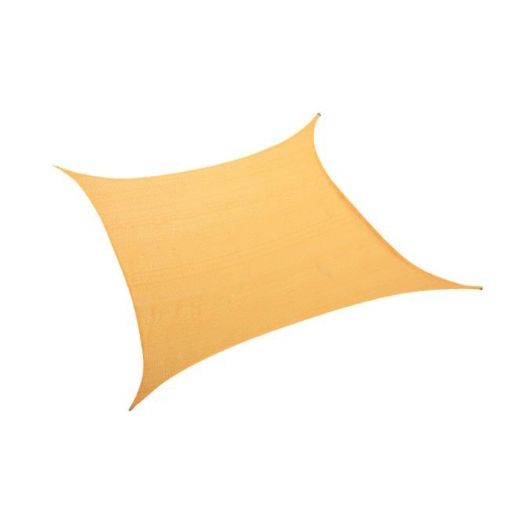 Picture of Sun Shade Sail Cloth ShadeCloth Canopy Outdoor Awning Cover Square Beige 3Mx3M | Free Delivery