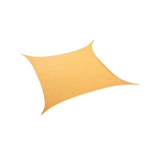 Picture of Sun Shade Sail Cloth Canopy ShdeCloth Outdoor Awning Rectangle Cover Beige 2x2.5 | Free Delivery