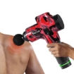 Picture of Spector Massage Gun Electric Massager Vibration Muscle Therapy 4 Head Percussion | Free Delivery