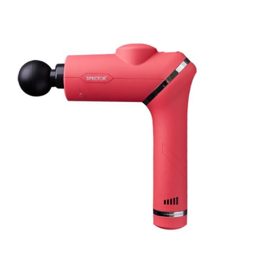 Picture of Spector Massage Gun 90° Rotatable Deep Tissue Percussion Muscle Vibrating Pink   Free Delivery