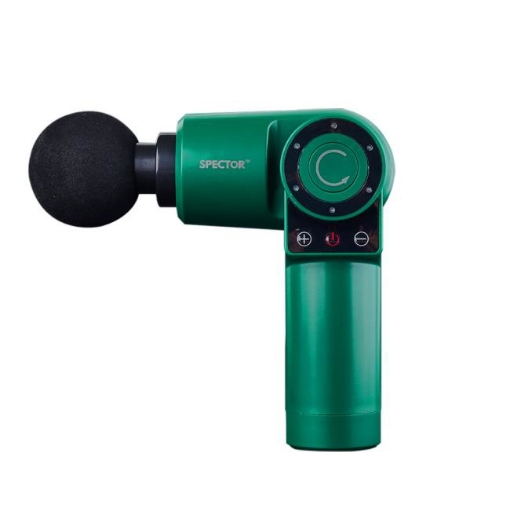 Picture of Spector Massage Gun 90°Rotatable Pocket Massager Tissue Muscle Percussion Green | Free Delivery