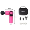 Picture of Spector Massage Gun 90° Rotatable Pocket Massager Tissue Muscle Percussion Pink | Free Delivery