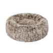 Picture of Pet Bed Cat Dog Donut Nest Calming Mat Soft Plush Kennel Coffee L | Free Delivery