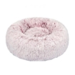 Picture of Pet Bed Cat Dog Donut Nest Calming Mat Soft Plush Kennel Pink L | Free Delivery