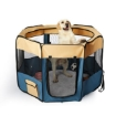 Picture of 8 Panel Pet Playpen Dog Puppy Play Exercise Enclosure Fence Blue L | Free Delivery