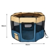 Picture of 8 Panel Pet Playpen Dog Puppy Play Exercise Enclosure Fence Blue M | Free Delivery