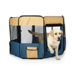 Picture of 8 Panel Pet Playpen Dog Puppy Play Exercise Enclosure Fence Blue XL | Free Delivery
