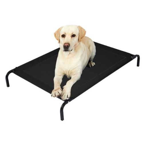 Picture of Pet Bed Dog Beds Bedding Sleeping Non-toxic Heavy Trampoline Black L | Free Delivery