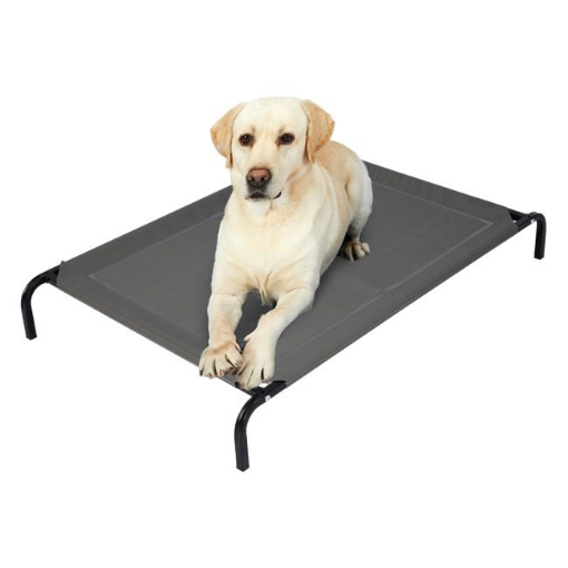 Picture of Pet Bed Dog Beds Bedding Sleeping Non-toxic Heavy Trampoline Grey M | Free Delivery