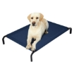 Picture of Pet Bed Dog Beds Bedding Sleeping Non-toxic Heavy Trampoline Navy M | Free Delivery