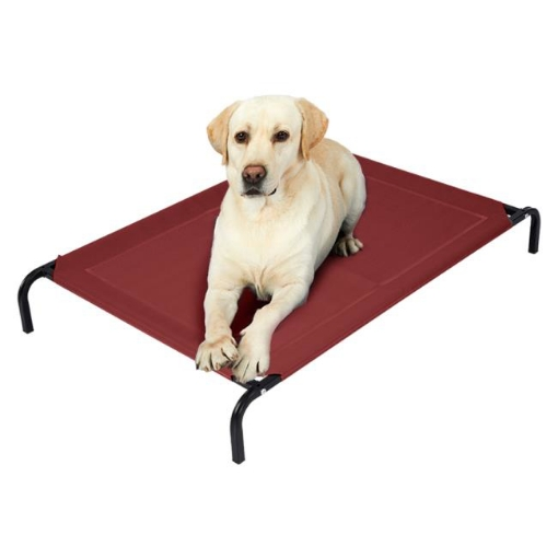 Picture of Pet Bed Dog Beds Bedding Sleeping Non-toxic Heavy Trampoline Red M | Free Delivery