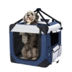 Picture of Pet Carrier Bag Dog Puppy Spacious Outdoor Travel Hand Portable Crate L | Free Delivery
