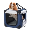 Picture of Pet Carrier Bag Dog Puppy Spacious Outdoor Travel Hand Portable Crate XL | Free Delivery