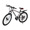 Picture of 29'' Mountain Bicycle White Racing Bike 21 Speed Dual Disc Brake Carbon Steel | Free Delivery