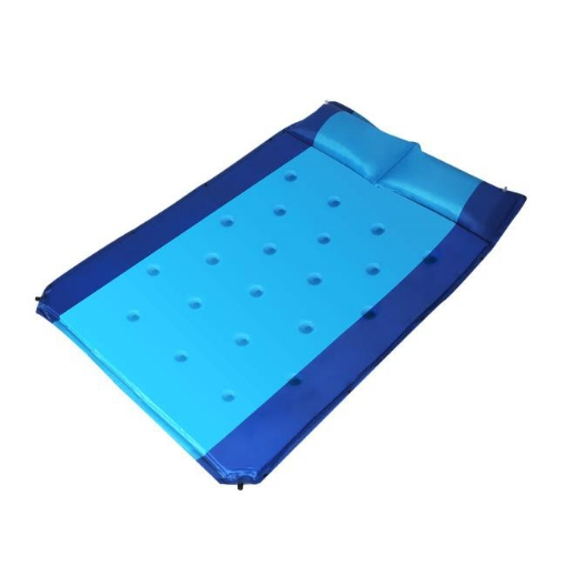 Picture of Self Inflating Mattress Double Sleeping Mat Air Bed Pad Camping Hiking Pillow | Free Delivery