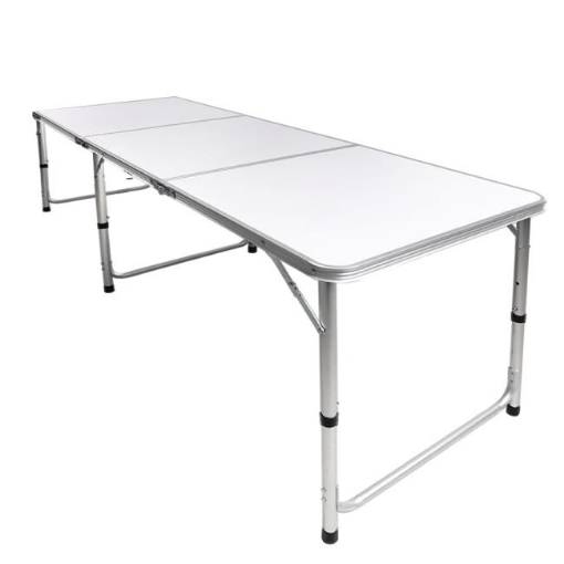 Picture of Folding Camping Table Aluminium Portable Picnic Outdoor Foldable Tables 180cm | Free Delivery