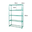 Picture of 2x 5 Tier Plant Shelve Garden Greenhouse Steel Storage Shelving Frame Stand Rack | Free Delivery