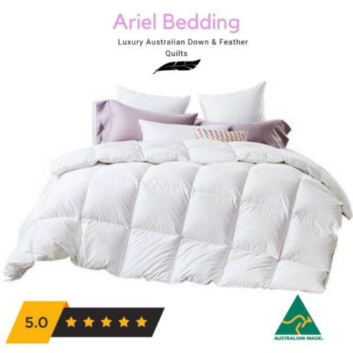 Picture of Ariel Miracle 95percent Duck Down 5percent Duck Feather Quilt Single | Free Delivery