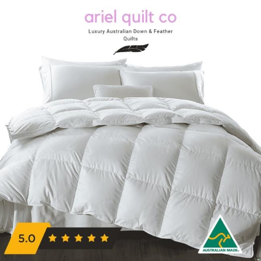 Picture of Ariel Miracle 95percent Goose Down 5percent Goose Feather Quilt Single   Free Delivery