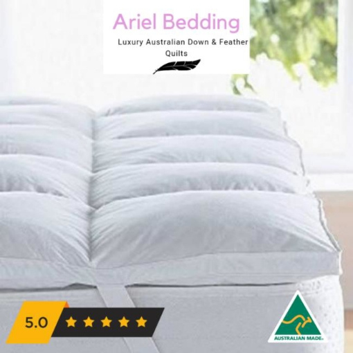 Picture of Ariel Miracle Plush Mattress Topper - Duck Down Single | Free Delivery