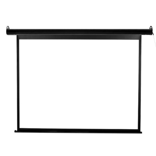 "Picture of 100"" Inch Projector Screen Electric Motorised Projection Retractable 3D Cinema 