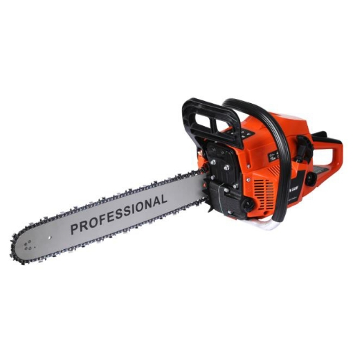 Picture of Petrol Chainsaw Commercial E-Start 20 Bar Tree Pruning Chain Saw Top Handle 52CC   Free Delivery